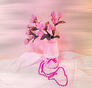 Photography Pastels - My World In Pink by Carol Grenier