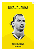 Nickname Prints - My Zlatan soccer legend poster Print by Chungkong Art