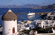 Greek Photos - Mykonos town by George Atsametakis
