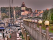 Myrtle Beach Prints - Myrtle Beach Lighthouse Print by David Bearden