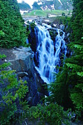 Water Falls Photos - Myrtle Falls by Jeff  Swan