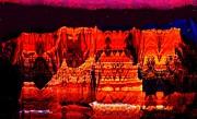Anne-Elizabeth Whiteway - Mysterious Cliffs at Night