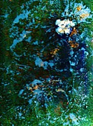 Mysterious Flower Under The Sea Print by Anne-Elizabeth Whiteway