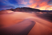 Sand Dunes Photo Posters - Mysterious Mesquite Poster by Darren  White