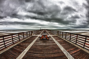 Torment Photos - Mysterious Pier by Raul Rodriguez