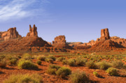 Mysterious Valley Of The Gods Print by Christine Till