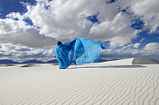 Creative Photography Photos - Mystic Blue 11 by Bob Christopher