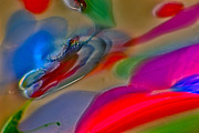 Color Photography Glass Art Posters - Mystic Dragon Poster by Omaste Witkowski