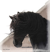 Friesian Posters - Mystic Dream Poster by Royal Grove Fine Art