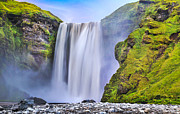 White River Prints - Mystic Iceland Print by JR Photography