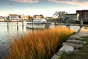 Gail Maloney Prints - Mystic Seaport Ct Print by Gail Maloney