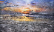 Dream Scape Prints - Mystical Waves Print by East Coast Barrier Islands Betsy A Cutler