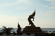 Silhouetted Art - Naga - Phuket Thailand - 01131 by DC Photographer