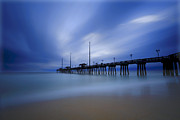 Stopper Photos - Nags Head NC Pier Sunrise by Jerry Patterson
