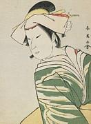 Katsukawa Shunei - Nakamura Noshio II as Tonase