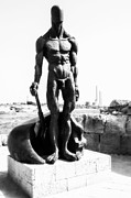 Middle East Photos - Naked guard by Yevgeni Kacnelson