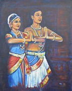 Namaste Paintings - Namaskaaramu by Usha Shantharam