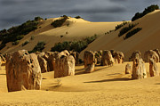 International Photography Posters - Nambung Desert Australia Poster by Bob Christopher