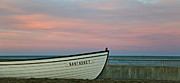 Nantasket Beach Framed Prints - Nantasket Beach Boat Framed Print by Patricia Abbate