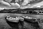 Adrian Evans - Nantlle Uchaf Boats