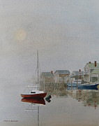 Nantucket Fog Print by Karol Wyckoff