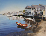 Nantucket Paintings - Nantucket by Sue Birkenshaw