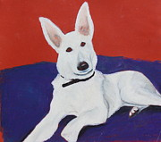 Dog Art - Napa by Jeanne Fischer