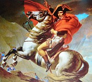 Gay Art Framed Giclee On Canvas Framed Prints - NAPOLEON at War Framed Print by Gunter  Hortz