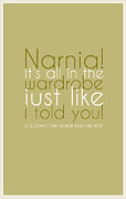 C.s Lewis Digital Art - Narnia its all in the wardrobe... by Tania L