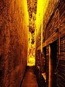 Narrow Way To The Light Print by Glenn McCarthy Art and Photography