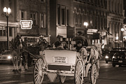 Nashville Carriage Ride Print by John McGraw