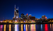 Nashville Tennessee Art - Nashville Magic Hour  by John McGraw