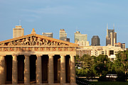 Nashville Tennessee Art - Nashville Pantheon by Brian Jannsen