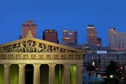 Nashville Tennessee Metal Prints - Nashville Parthenon Metal Print by Brian Jannsen