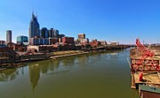 Nashville Skyline  Print by Dan Sproul