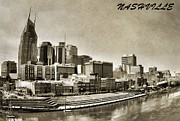 Nashville Tennessee Print by Dan Sproul