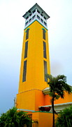 Bahamas Photos - Nassau Port Tower by Randall Weidner