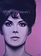 Natalie Wood Print by Paul  Meijering