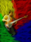 Clapton Digital Art - Nathan East-Fractal by Gary Gingrich Galleries