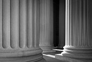 National Archives Columns Print by Inge Johnsson