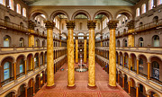 National Building Museum Photos - National Building Museum by Jack Nevitt