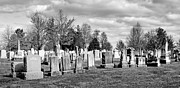 Civil War Site Art - National Cemetery - Gettysburg Battlefield by Brendan Reals