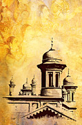 India Metal Prints - National College of Arts Lahore Metal Print by Catf