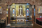 St Elizabeth Prints - National Shrine of Saint Elizabeth Ann Seton Print by John Greim