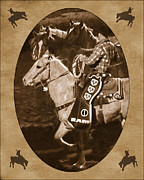 National Western Stock Show Print by Priscilla Burgers