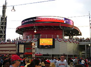 Washington Nationals Prints - Nationals Park - 01131 Print by DC Photographer