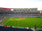Nationals Baseball Framed Prints - Nationals Park - 01132 Framed Print by DC Photographer