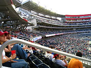 Nationals Baseball Framed Prints - Nationals Park - 01133 Framed Print by DC Photographer