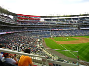 Washington Nationals Prints - Nationals Park - 01134 Print by DC Photographer