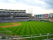 Washington Nationals Prints - Nationals Park - 01135 Print by DC Photographer